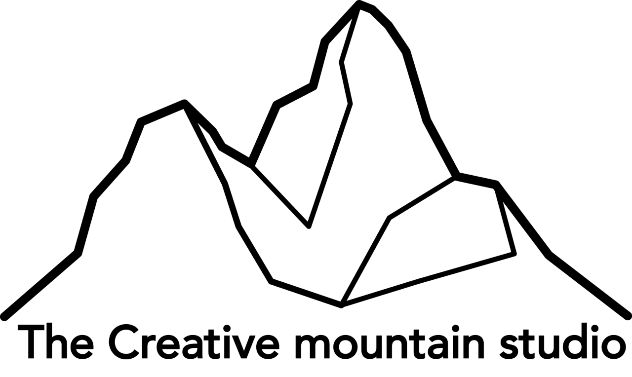 logo creative mountain studio